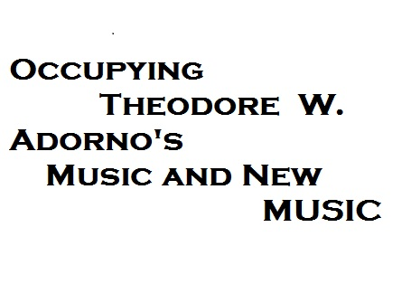 theodor adorno the essay as form Alex ross on the influence of walter benjamin and theodor adorno as benjamin seems to do in his mesmerizing essay adorno makes the opposite mistake of.